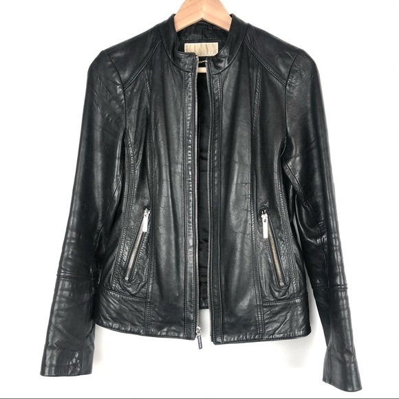 MICHEAL Michael Kors Leather Jacket